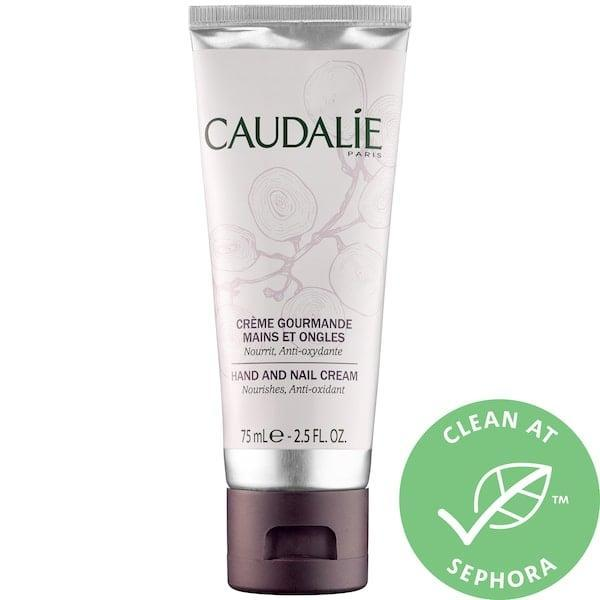 <p>This clean <span>Caudalie Hand and Nail Cream</span> ($15) tackles dryness on your hands using grape seed oil and shea butter.</p>