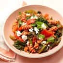 <p>Add kale to multigrain pasta for a nutrient-packed dish to power you through the day.</p>
