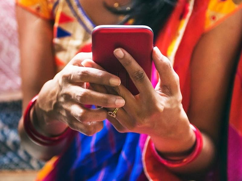 Just more than a quarter of India's population has access to the internet: Shutterstock