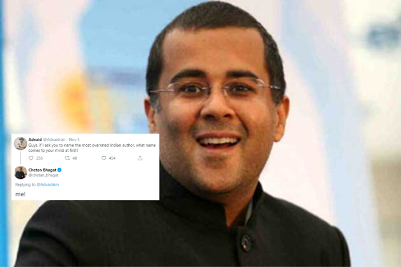 Chetan Bhagat Took the Bait After User Asked Twitter to Name the Most 'Overrated Indian Author'