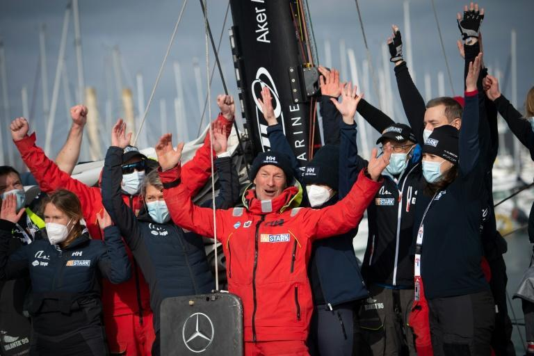 It took him 116 days but Finnish skipper Ari Huusela became the 25th and final skipper to cross the line of the 9th Vendee Globe on Friday