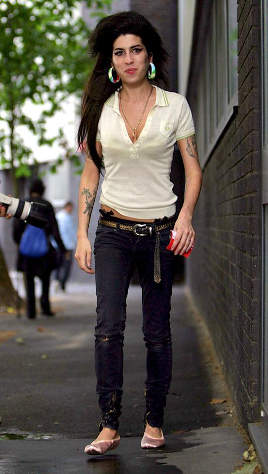 "Staying in rehab can be a challenge, as Amy Winehouse has proven. The British singer reportedly checked into -- and then out of -- a rehab clinic after 48 hours. Raymond Field, Steve Wake/<a href=""http://www.splashnewsonline.com/"" target=""new"">Splash News</a> - August 16, 2007"