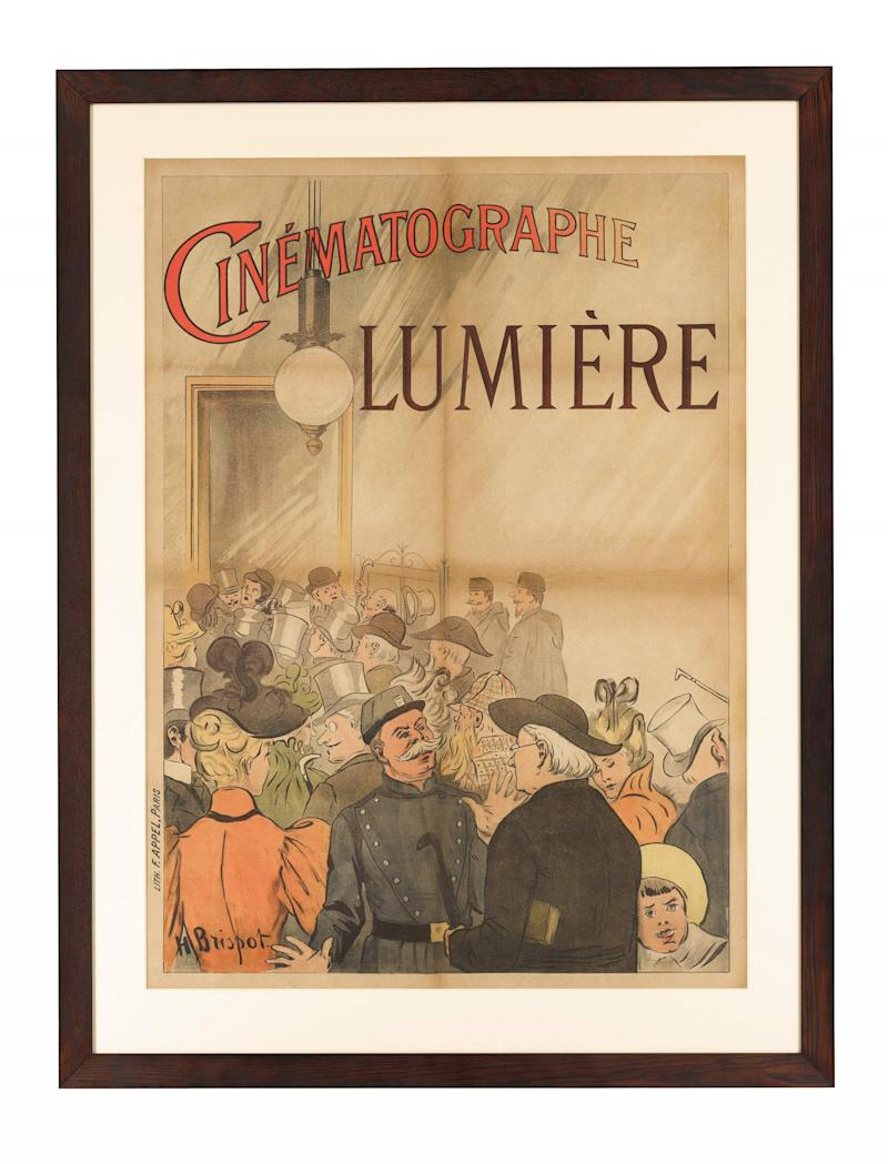 The world's first film poster is going under-the-hammer (Sotheby's)