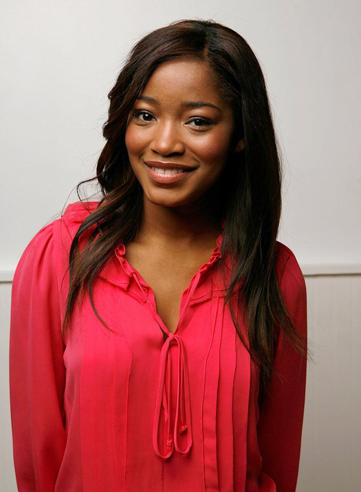 """<a href=""""http://movies.yahoo.com/movie/contributor/1808538452"""">KEKE PALMER</a>  Age: 15  Last Project: <a href=""""http://movies.yahoo.com/movie/1810027469/info"""">Tyler Perry's Madea Goes to Jail</a>  Upcoming Project: <a href=""""http://movies.yahoo.com/movie/1810059710/info"""">Shrink</a>  Total Domestic Box Office Gross: $205,445,683   Keke Palmer turned heads in 2006 with a pair of performance, first in """"<a href=""""http://movies.yahoo.com/movie/1808700732/info"""">Tyler Perry's Madea's Family Reunion</a>"""" and then in """"<a href=""""http://movies.yahoo.com/movie/1808718529/info"""">Akeelah and the Bee</a>."""" Since then she's played a double-dutch jump roper in """"<a href=""""http://movies.yahoo.com/movie/1809825848/info"""">Jump In</a>,"""" a star quarterback in """"<a href=""""http://movies.yahoo.com/movie/1809970731/info"""">The Longshots</a>,"""" and Samuel L. Jackson's daughter in """"<a href=""""http://movies.yahoo.com/movie/1809831216/info"""">Cleaner</a>."""""""