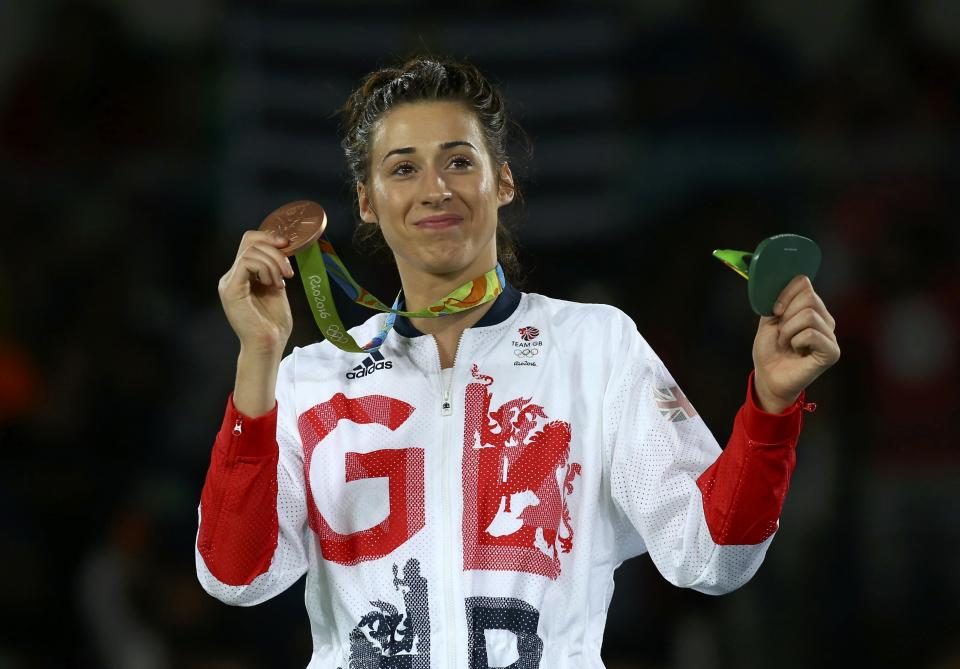 Walkden won bronze in Rio five years ago but says she's gunning for gold in Japan this summer