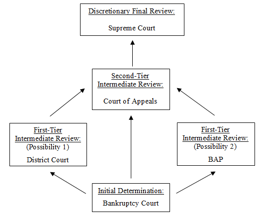 The structure of the bankruptcy appellate system. (Photo: Emory School of Law)