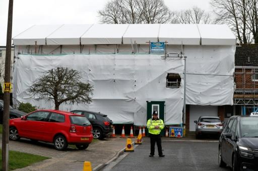 Investigators sealed off their house in Salisbury, southern England after Russian ex-spy Sergei Skripal and his daughter were poisoned in 2018