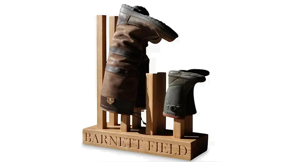 The Oak & Rope Company Personalised Wellie Boot Holder