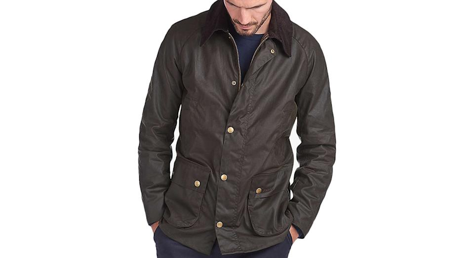 Barbour Lifestyle Ashby Waxed Cotton Field Jacket
