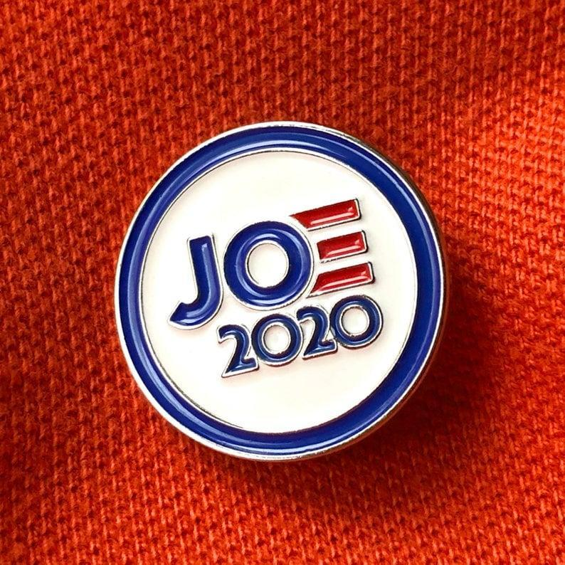 <p><span>JOE 2020 Enamel Pin </span> ($9)</p>