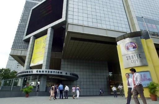 Two involved in a brawl at Suntec City have reportedly jumped bail. (AFP file photo)