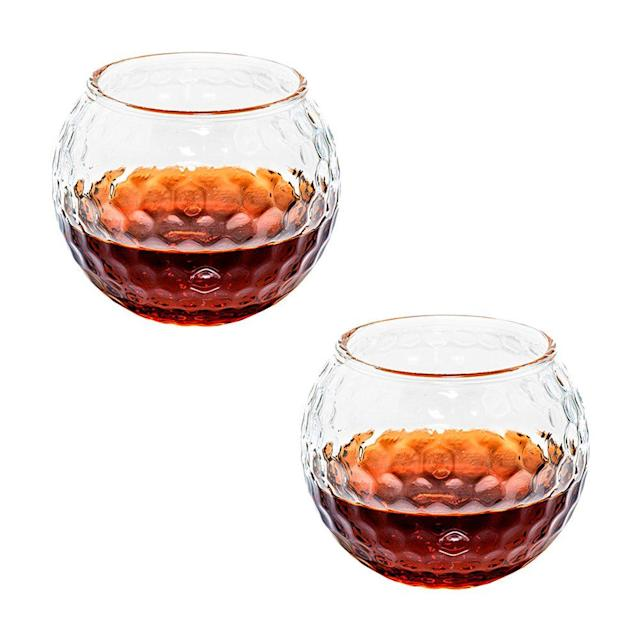 "<p><strong>Prestige Decanters</strong></p><p>amazon.com</p><p><strong>$30.00</strong></p><p><a href=""http://www.amazon.com/dp/B01NBCP7CW/"" rel=""nofollow noopener"" target=""_blank"" data-ylk=""slk:Shop Now"" class=""link rapid-noclick-resp"">Shop Now</a></p><p>Name a better way to finish a round a golf than sipping whiskey on the rocks.</p>"