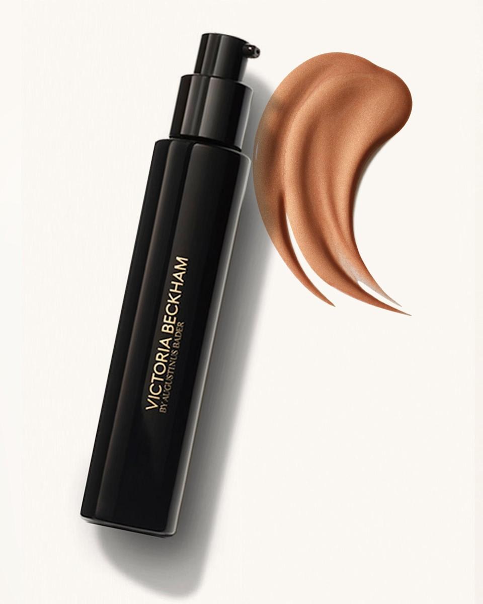 """<p>The <span>Victoria Beckham Beauty Cell Rejuvenating Priming Moisturizer in Golden</span> ($145) has a warm golden tint not because it contains any pigment but thanks to a blend of micronized pearls that are gold, amber, and champagne in color, mixed into the formula to not only impart a warm glow over your skin but also create an optical illusion and the appearance of smoother-looking skin. LA-based makeup artist (and <a href=""""https://beautyisboring.com/"""" class=""""link rapid-noclick-resp"""" rel=""""nofollow noopener"""" target=""""_blank"""" data-ylk=""""slk:Beauty Is Boring"""">Beauty Is Boring</a> founder) Robin Black loves using it under makeup during the summer months. """"The subtle golden sheen makes me look healthy and tan, plus it looks lovely alone or under makeup,"""" she explained.</p>"""