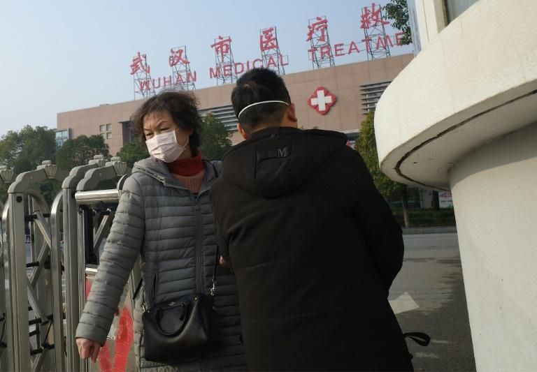 The novel coronavirus has already given rise to 41 pneumonia-like cases and one death in China (AFP Photo/Noel Celis)