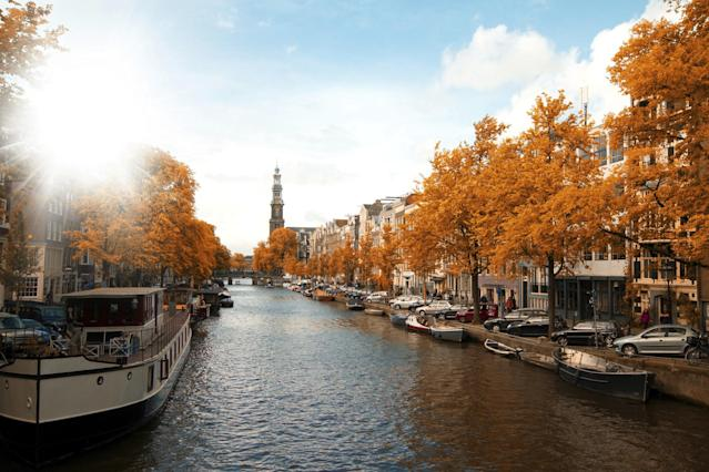 <p>No. 6: Amsterdam, Netherlands<br>Cost of a date: $134.30<br>(Yahoo Travel) </p>