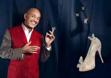First Look! Christian Louboutin Collaborates With Disney To Design The New Cinderella Glass Slipper!