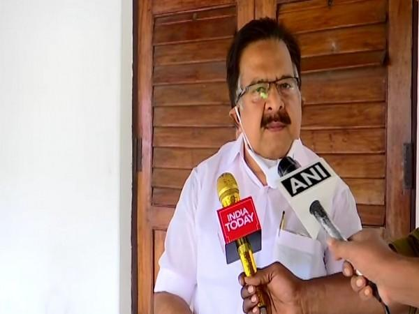 Kerala Opposition leader Ramesh Chennithala speaking to reporters on Friday. Photo/ANI