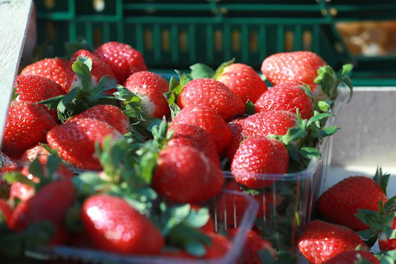 Strawberries are a big seller, according to Woolworths. Source: Getty