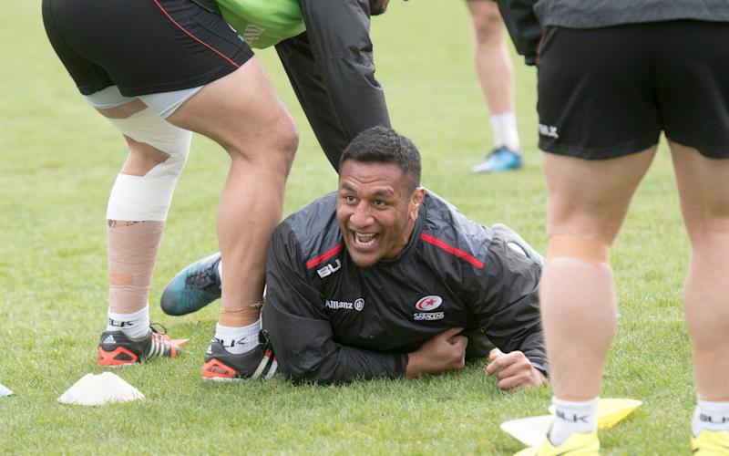 Mako Vunipola is mentally and physically fresh after returning from an injury lay-off - Paul Grover