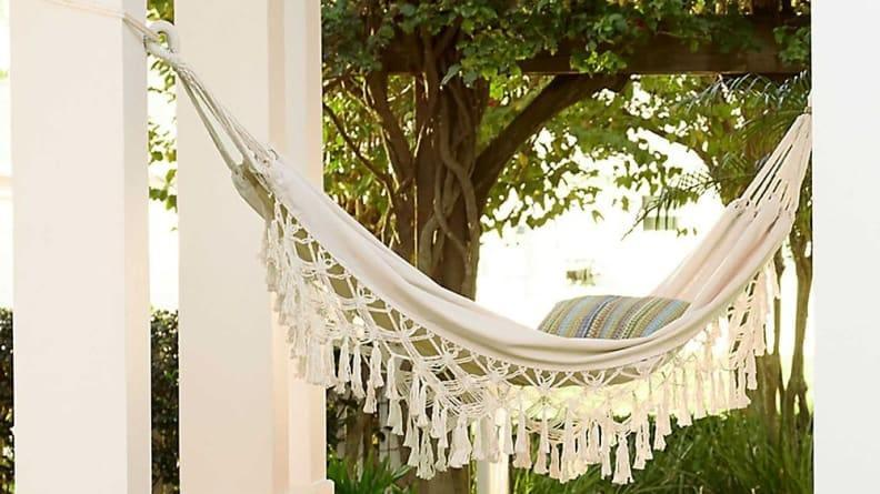 This hammock is every bit as pretty as it is comfortable.