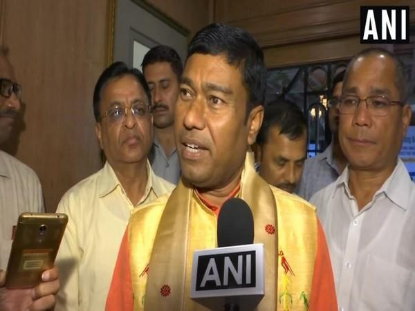 Minister of State for Petroleum and Natural Gas, Rameswar Teli. (Photo/ANI)