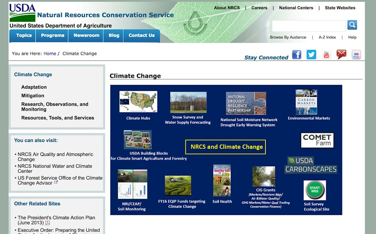 USDA Says They Never Told Staff To Use 'Weather Extremes' Instead Of