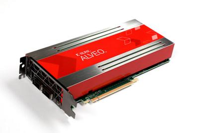 Xilinx today launched Alveo, the world's fastest data  seat and artificial intelligence (AI) accelerator cards.