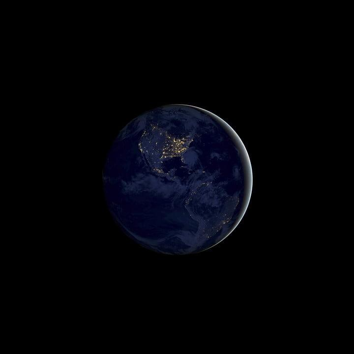 ios 11 wallpapers earth night