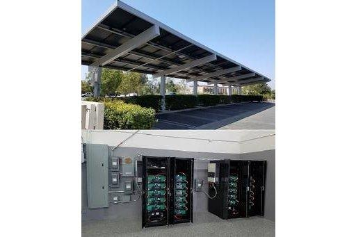 XsunX Delivers Solar Carport Paired with Cutting Edge Energy Storage Technology