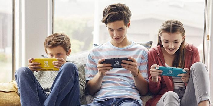 "Parental controls are easy to enable on the Nintendo Switch. <p class=""copyright"">Nintendo</p>"