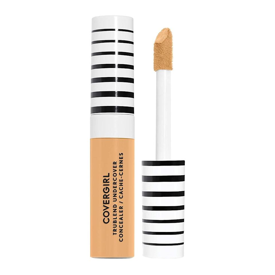 """CoverGirl Trublend Undercover Concealer achieves the near-impossible: lending <a href=""""https://www.allure.com/gallery/ten-concealers-under-20?mbid=synd_yahoo_rss"""" rel=""""nofollow noopener"""" target=""""_blank"""" data-ylk=""""slk:full coverage to any dark circles"""" class=""""link rapid-noclick-resp"""">full coverage to any dark circles</a> and uneven tone while maintaining a lightweight feel and smooth finish with zero caking or creasing. For days when you don't feel like putting on a full face but still want coverage, this will be your best friend. Not only that, but it also comes in clutch as a highlighter or contour if you go two shades brighter or darker than your usual hue. All this, for less than 10 bucks a pop. $11, Amazon. <a href=""""https://www.amazon.com/Covergirl-Trublend-Undercover-Concealer-Classic/dp/B07PDNJKJH"""" rel=""""nofollow noopener"""" target=""""_blank"""" data-ylk=""""slk:Get it now!"""" class=""""link rapid-noclick-resp"""">Get it now!</a>"""