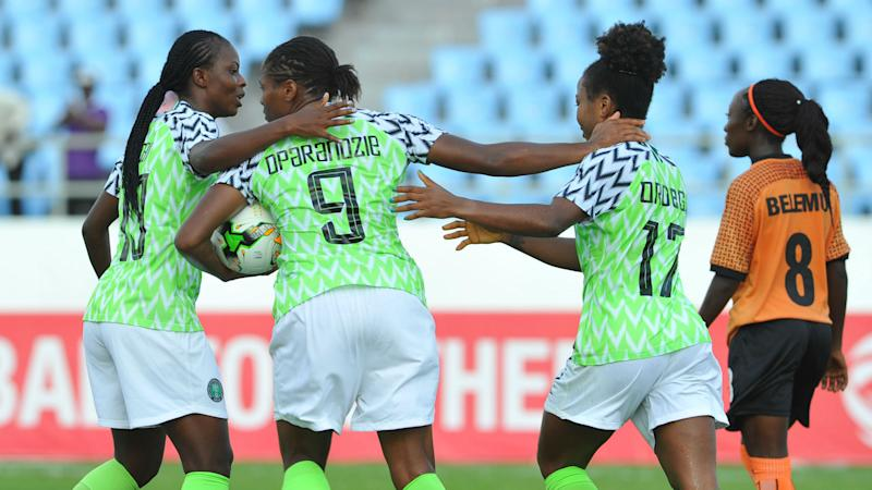 Nigeria 5-1 Burkina Faso: Uchenna Kanu's hat-trick gets Super Falcons off to flying start