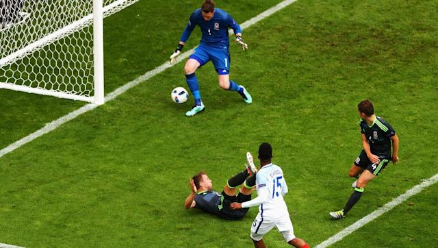 <p>Having waited 57 years to compete at a major tournament, Wales were incredibly paired with neighbours England in Group B for the 2016 European Championships. </p> <br><p>A stunning Gareth Bale free-kick - or Joe Hart error depending on which side of the border you reside on - gave Chris Coleman's men a surprise first half lead. </p> <br><p>Jamie Vardy restored parity with a scrappy equaliser minutes after the break and the turnaround was complete when substitute Daniel Sturridge poked home in the dying moments to secure victory for the Three Lions. </p> <br><p>Heartbreak for the Welsh, but they would go on to surpass many expectations by reaching the semi-finals of the tournament, whilst victory proved to be England's only win of the competition, as they crashed out in the first knockout round with a shock 2-1 defeat to Iceland.</p>