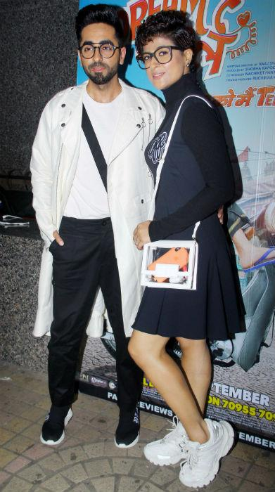 Celebrities at the special screening of 'Dream Girl'