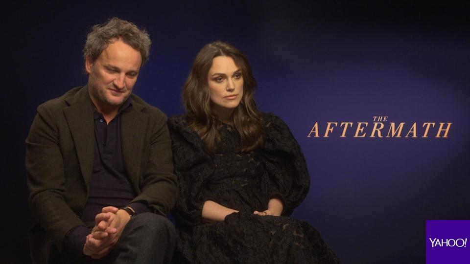 Jason Clarke and Keira Knightley discuss The Aftermath