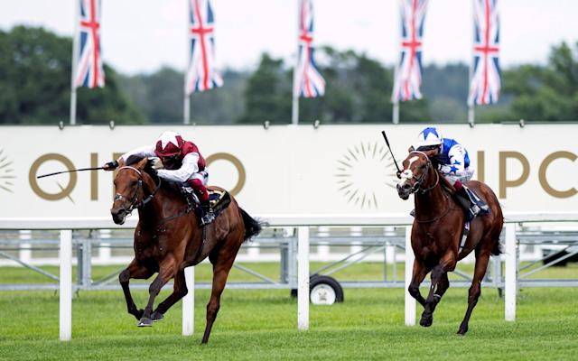 Fanny Logan provided Frankie Dettori with his 70th Royal Ascot win - reuters