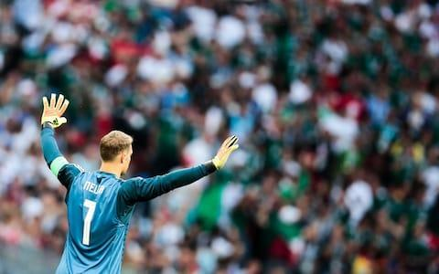 "Fifa has launched an investigation into homophobic chants by Mexico fans during their World Cup win over Germany. Supporters could be heard yelling ""puto"" - the Spanish word for a male prostitute - when Manuel Neuer prepared to take a goal kick in the 24th minute of Sunday's Group F game. Fifa confirmed it was ""collecting the different match reports and potential evidence in regards to the matter, including the one from the anti-discrimination match observer who was present at the game as part of Fifa's anti-discrimination monitoring system"". The Mexican Football Federation (FMF) has been repeatedly fined for its fans' use of the slur but has controversially avoided a stadium ban, a sanction imposed on other Latin American associations for persistent homophobic abuse by supporters. The Court of Arbitration for Sport also cancelled two fines issued to Mexico in November, ruling the chant on those occasions had been ""insulting"" but not meant to offend. It allowed other fines imposed on the FMF to stand. Fifa began taking action over the ""puto"" chant after being condemned for failing to do so during the last World Cup in Brazil. Manuel Neuer was on the receiving end of some abuse Credit: getty images During qualifying for Russia 2018, it punished homophobic abuse on 56 occasions. Mexico accounted for 12 of those transgressions, Chile 10, Argentina six, and Brazil and Honduras five each. Only Chile and Honduras ended up with stadium bans, sparking calls for Fifa to increase the severity of its punishments for homophobic chants. Unlike ""race, colour, language, religion or origin"", sexual orientation is not mentioned in Article 58 of Fifa's disciplinary code, which governs discrimination. Breaches of Article 58 incur a minimum fine of 30,000 Swiss francs, with ""serious offences"" punishable by matches being played behind closed doors, the forfeit of a match, a points deduction of expulsion from a competition. World Cup 2018 