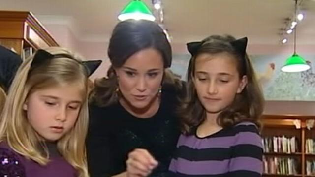 The Duchess of Cambridge's sister got a little surprise at the start of her book tour.