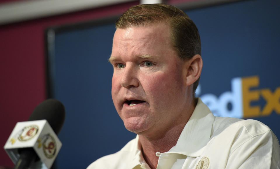 Scot McCloughan's tenure in Washington had a turbulent ending. (AP Photo)