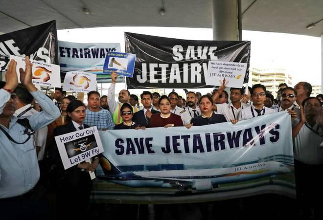 <div>According to reports, Jet Airways pilots have been asked to take salary  cuts of 25-30 per cent, while engineers have been settling at 50 per  cent of their current pay<br /><br /></div>
