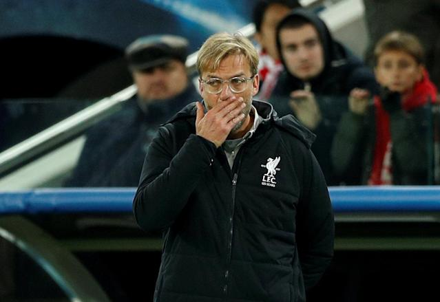 Soccer Football – Champions League – Spartak Moscow vs Liverpool – Otkrytiye Arena, Moscow, Russia – September 26, 2017 Liverpool manager Juergen Klopp Action Images via Reuters/John Sibley