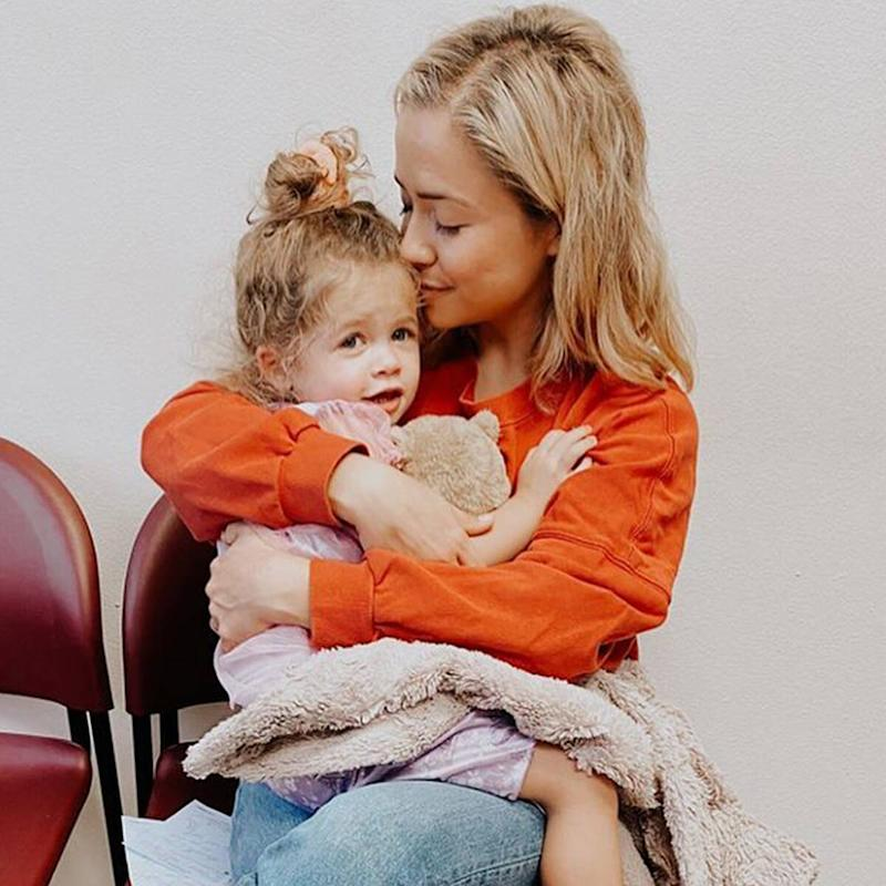 Influencer Ashley Stock's 3-Year-Old Daughter Laid to Rest 2 Weeks After Death