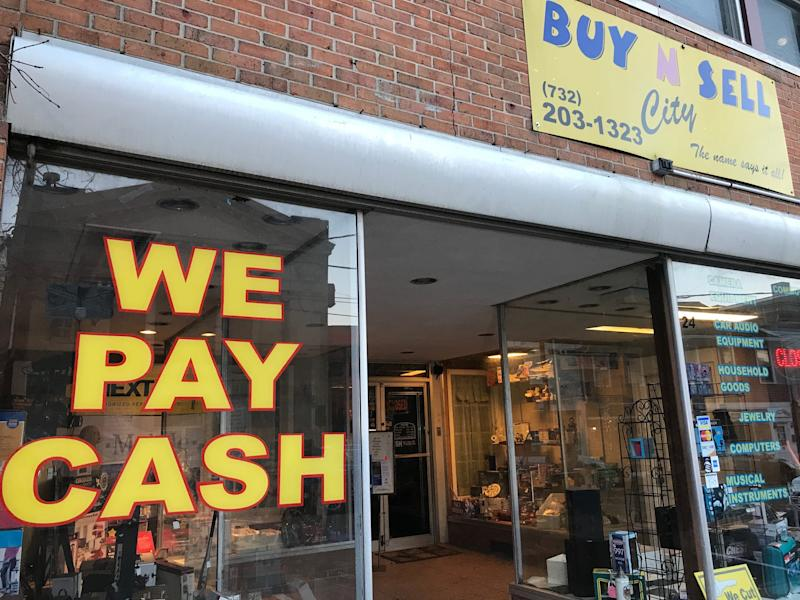 Buy N Sell city, the Keyport pawn shop owned by Ahmed A-Hady, who was charged Saturday with being a previously convicted felon in possession of a firearm in connection to the Jersey City shooting.