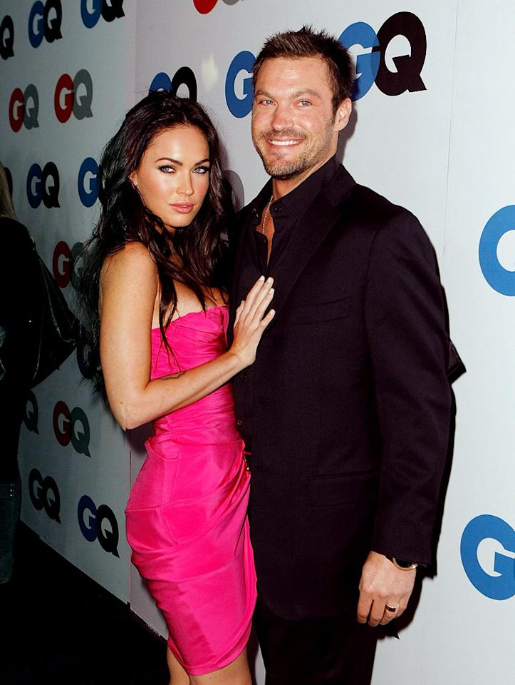 """Somehow Megan Fox and Brian Austin Green managed to sneak off to Hawaii and get married in mid-June without anyone knowing! But they're not the only Hollywood couple to pull off a hush-hush wedding. Michael Buckner/<a href=""""http://www.gettyimages.com/"""" target=""""new"""">GettyImages.com</a> - November 18, 2008"""