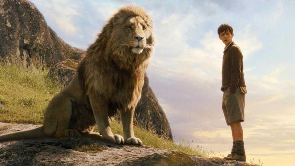 "<p><strong>Based On: </strong><em><a href=""https://www.amazon.com/Lion-Witch-Wardrobe-Chronicles-Narnia/dp/0064404994"" rel=""nofollow noopener"" target=""_blank"" data-ylk=""slk:The"" class=""link rapid-noclick-resp"">The</a></em><a href=""https://www.amazon.com/Lion-Witch-Wardrobe-Chronicles-Narnia/dp/0064404994"" rel=""nofollow noopener"" target=""_blank"" data-ylk=""slk:Chronicles of Narnia: The Lion, the Witch and the Wardrobe"" class=""link rapid-noclick-resp""><em>Chronicles of Narnia: The Lion, the Witch and the Wardrobe</em></a> by C. S. Lewis, published in 1950 and followed by six novels.</p><p><strong>The Films: </strong>The literary children's saga, which boasts seven books, has been revived many times over the years. In 2005, a big-budget retelling of Lewis' <em>The Lion, the Witch and the Wardrobe</em> hit cinemas and grossed $745 million. Two sequels followed, adaptations of the second and third books, in 2008 and 2010, respectively. Combined, the trilogy has grossed<strong> $1.5 billion</strong>. The journey to Narnia will soon <a href=""https://www.hollywoodreporter.com/heat-vision/netflixs-chronicles-narnia-finds-creative-architect-matthew-aldrich-1217796"" rel=""nofollow noopener"" target=""_blank"" data-ylk=""slk:make the leap"" class=""link rapid-noclick-resp"">make the leap</a> from the big screen to Netflix for the adaptation of the fourth book, <em>The Silver Chair.</em></p>"