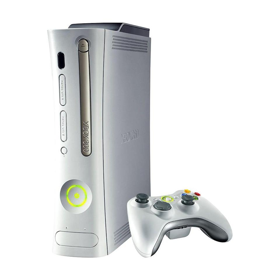 "<p><a class=""link rapid-noclick-resp"" href=""https://www.amazon.com/Xbox-360-4GB-Console/dp/B003O6JKLC/?tag=syn-yahoo-20&ascsubtag=%5Bartid%7C10063.g.34738490%5Bsrc%7Cyahoo-us"" rel=""nofollow noopener"" target=""_blank"" data-ylk=""slk:BUY NOW"">BUY NOW</a><br></p><p>The Xbox 360 was influential in the gaming space, and it was widely popular in the first year of release. It advanced the online feature, Xbox Live, allowing players to download games and purchase and stream music, movies, and TV.</p>"