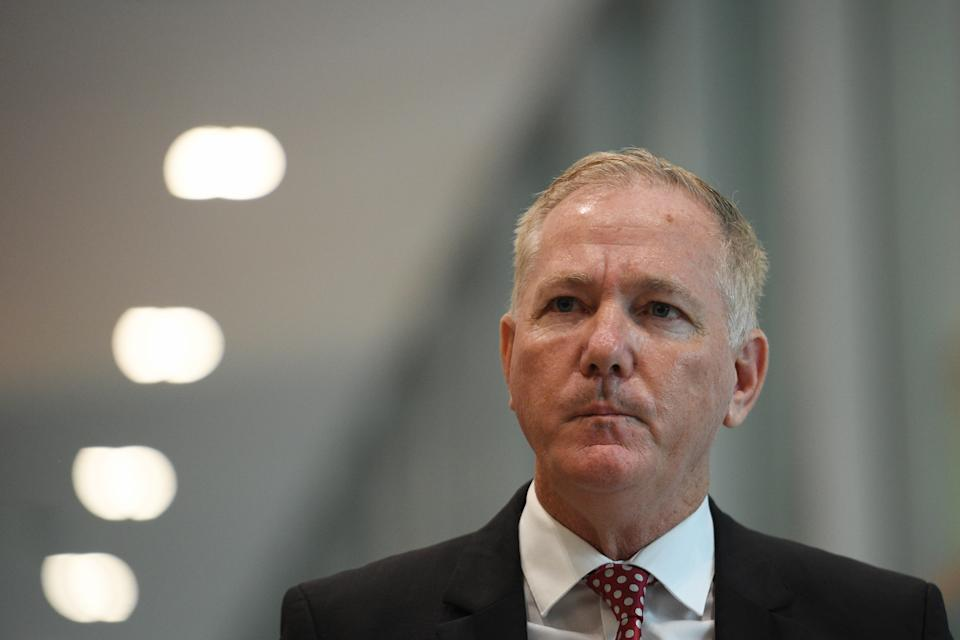 NSW Police Commissioner Mick Fuller addresses the media during a press conference in Sydney. Source: AAP