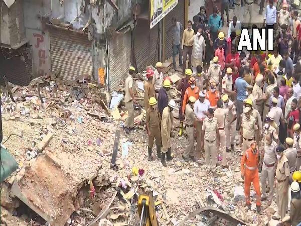 Rescue operation underway at the site (Photo/ANI)