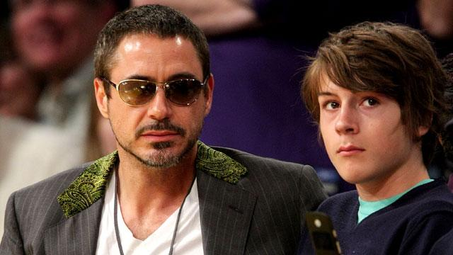 Robert Downey Jr.'s Son Indio Charged with Drug Possession