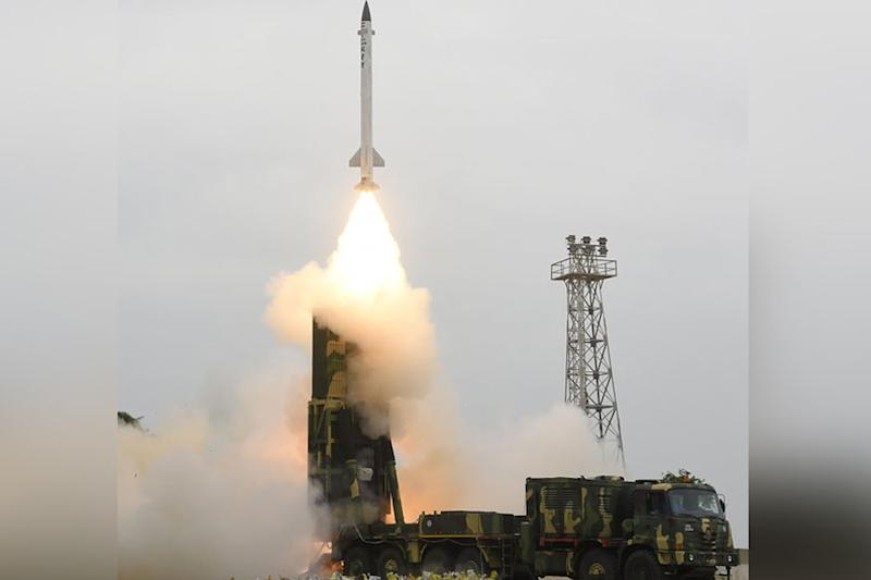 India Test-fires 3,500km Nuclear-capable Ballistic Missile K-4 Off Andhra Coast